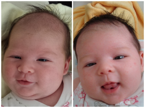Norah on the right, Isla on the left